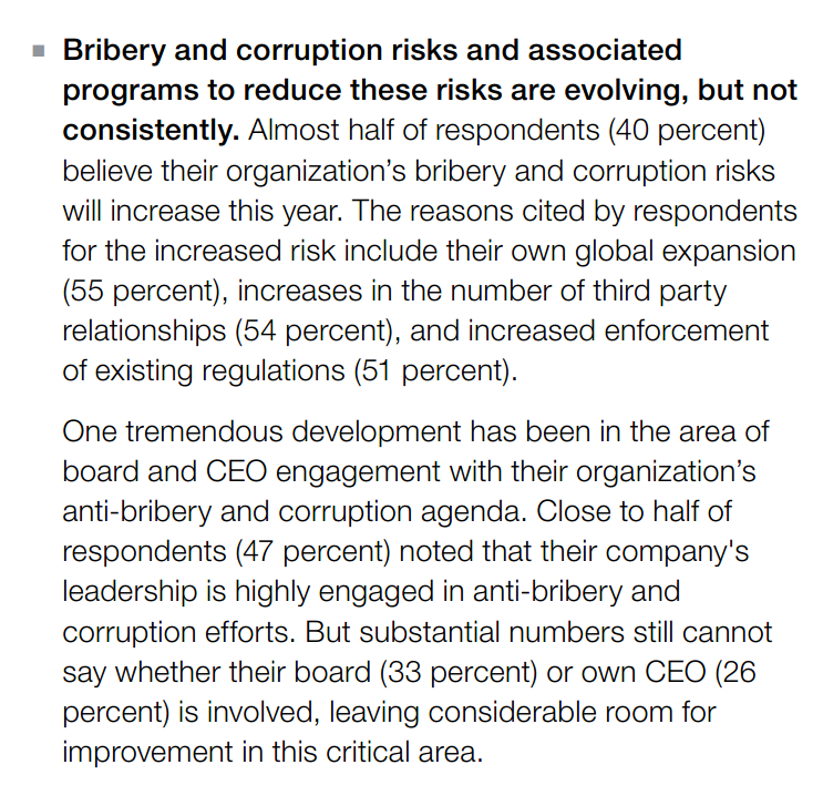 Kroll 2016 Anti-Bribery and Corruption Report Slide 1