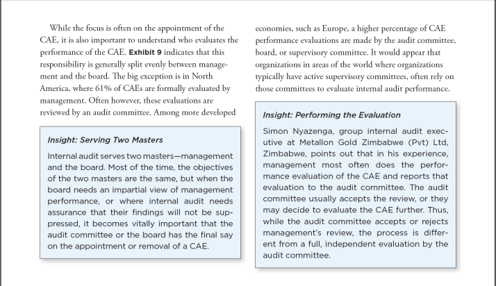 who-evaluates-the-cae